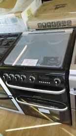 CANNON Carrick CH60GCIK Gas Cooker - Black ex display