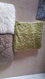 Next furry cushions