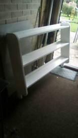 Large wooden chunky shelf