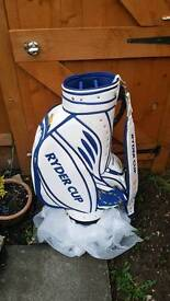 Ryder cup 2008 limited edition tour bag