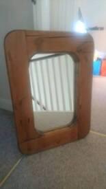 Vintage Rustic Mirror