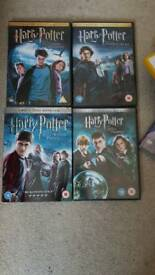 Harry potter dvd year 3-6
