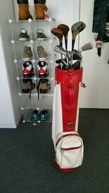Full Mcgregor/Dunlop golf club set