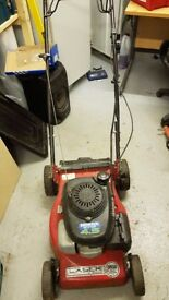 Faulty Mountfield Laser Omega 42 cm push lawnmower with Honda engine