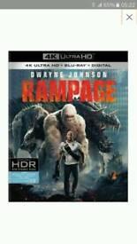 Rampage 2018 4k UHD bluray movie only (COPY)