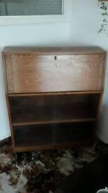 Antique Oak Bureau