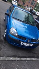 Clio 51 plate, great condition car