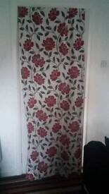 Poppy ring top curtains