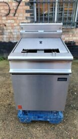Falcon Dominator Plus Twin Pan Fryer Natural Gas G3865, Twin Tank Twin Basket