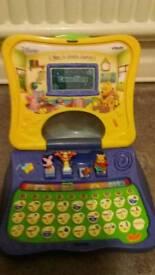 Winnie the Pooh laptop