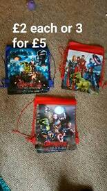 Avengers swimming bags