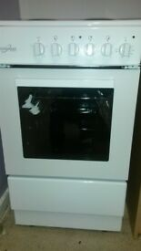 Brand new white cooker