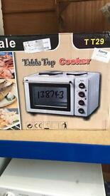 Table top cooker