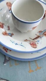 Two villeroy and Boch children's sets