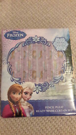 Disney Frozen curtains 66 by 72""
