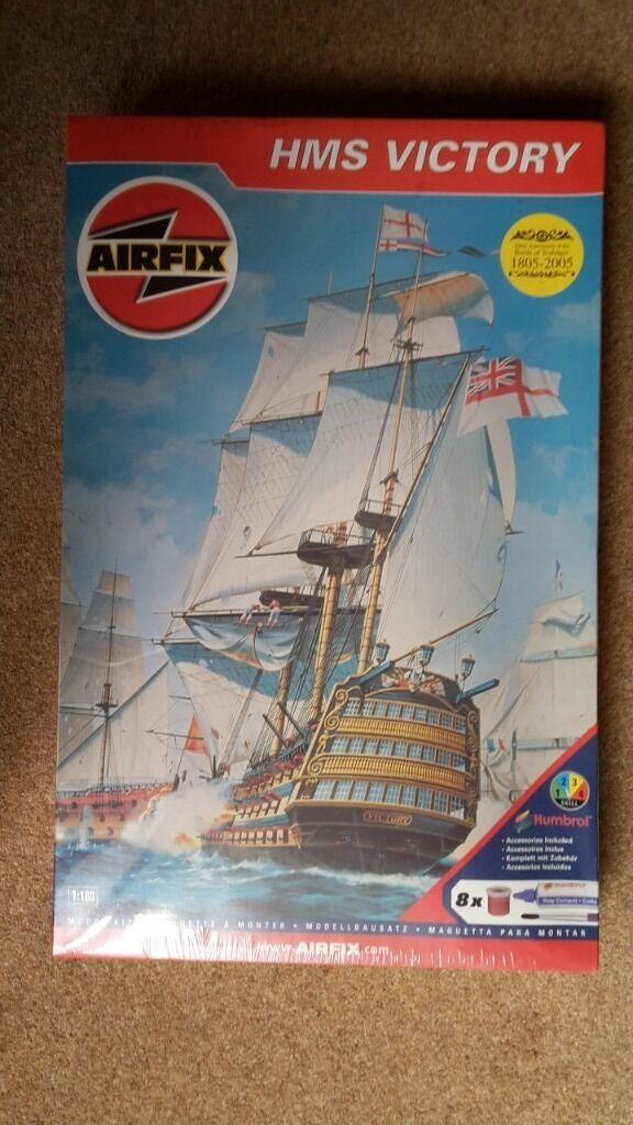 AIRFIX HMS VICTORY PLASTIC CONSTRUCTION KIT 1:180 NEW SEALED