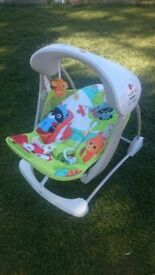 Fisher Price take along swings. 1=£35 or 2=£60.