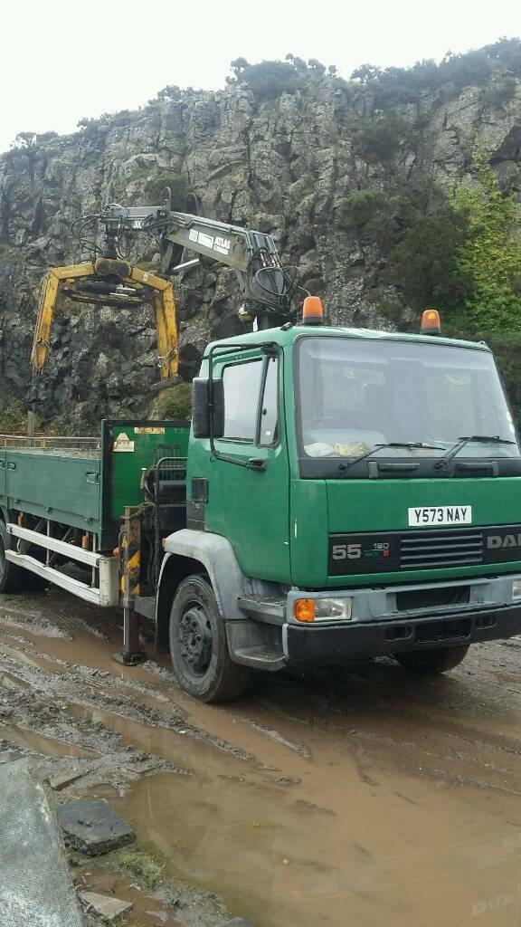 Crane lorry for sale