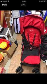 Silvercross Pop stroller & footmuff