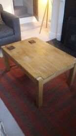 Barker and Stonehouse oak coffee table