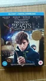 Fantastic Beasts. Blu- Ray DVD