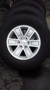 BRAND NEW GMC SIERRA 2015 FACTORY WHEELS WITH 255/70/17 TIRES