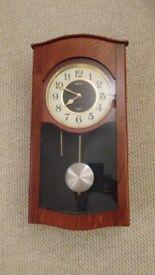 Seiko quartz pendulum wall clock for sale