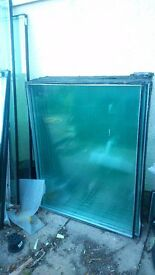 DOuble glazed glass and Frames For Sale