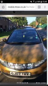Honda civic Gold for sale