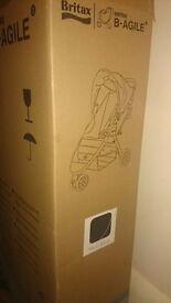 Britax B-Agile 3 Pushchair in Neon Black
