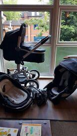 Graco simbio baby travel system