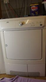 Refurbished Zanussi 7kg ZDC37100W Condenser Dryer - 3 month G/tee, Free Delivery
