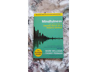 Mindfulness book + audio CD by Mark Williams and Danny Penman