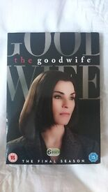 The Good Wife DVD - Final Season - watched once