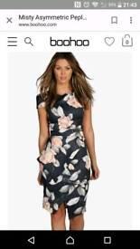 brand new boohoo dress size 12