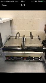 Panini press panini grill commercial catering resturant hotels pubs cafe deli