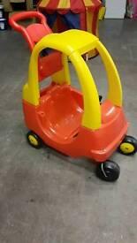 Little Tikes cist coupe kids car outdoor car