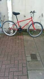 "Red Magna Threat Mountain Bike, 26"" Wheels, 18 Speed, 15"" Frame"