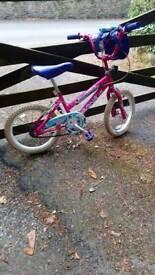 Child's Pink Bike