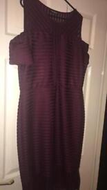 Wine Coloured Dress