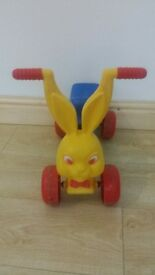 Bunny motorbike, can be used indoor or outdoor