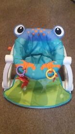 Fisher price sit me up seat frog