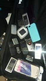 job lot old mobile phones spares and repairs i think most are working