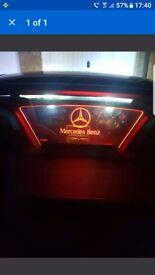 Mercedes r172 250 cdi wind deflector