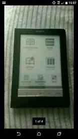 Sony e-book reader