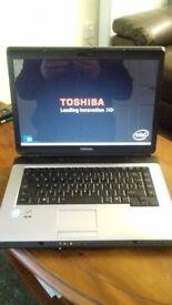 toshiba satellite l300 laptop with windows 7 home premium