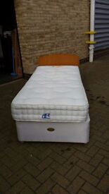 Harrisons single bed and mattress in excellent condition