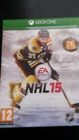 NHL 15 (Microsoft Xbox One, 2014)