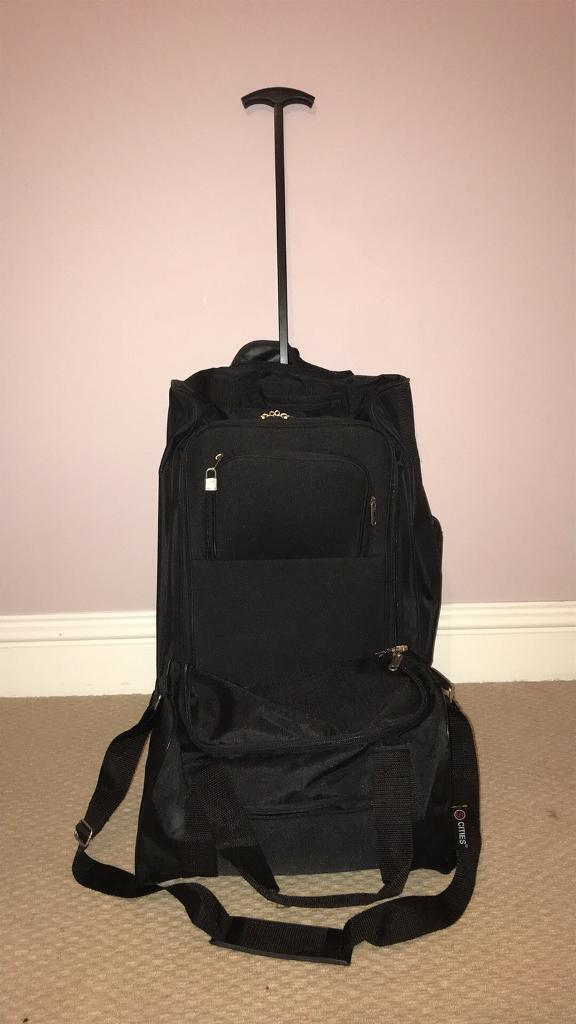 Flight cabin bags - trolley/rucksack plus carry on bag