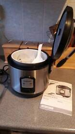 SilverCrest rice and steam cooker.